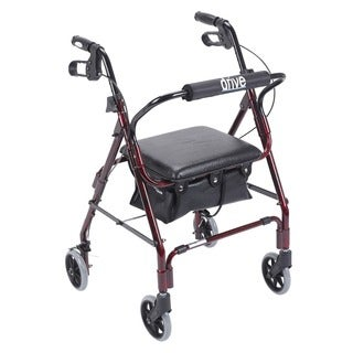 Drive Medical Red Mimi Lite Rollator