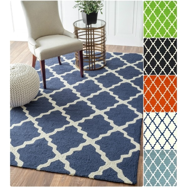 8x10 Indoor Outdoor Area Rugs: Shop NuLOOM Indoor/ Outdoor Moroccan Trellis Rug