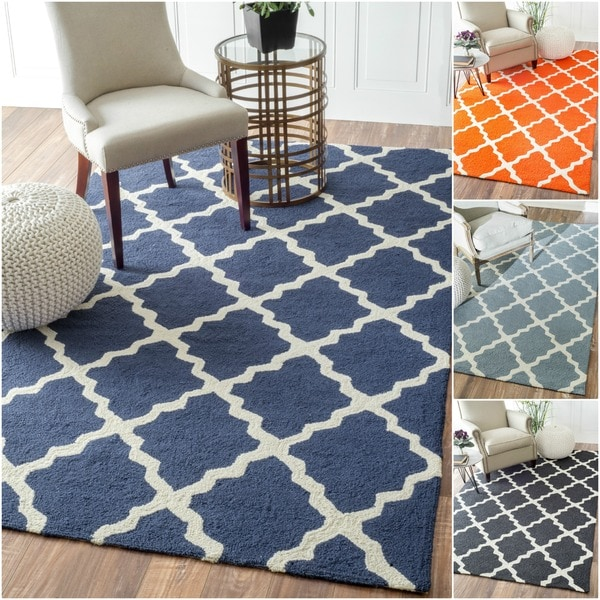 Shop Nuloom Indoor Outdoor Moroccan Trellis Rug 9 X