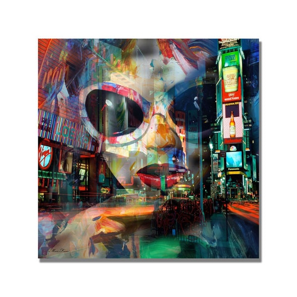 'On Broadway' Canvas Art