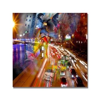 'Traffic' Canvas Art