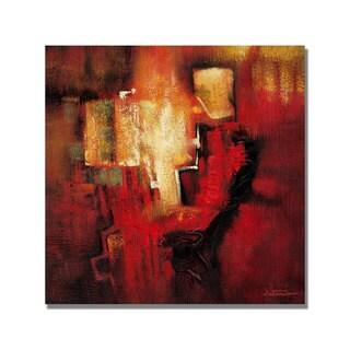 Antonio 'Abstract II' Canvas Art