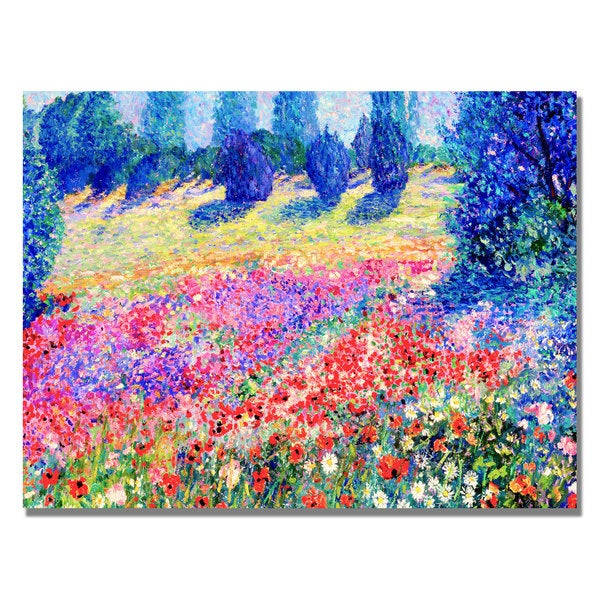 Manor Shadian 'Poppies' Canvas Art