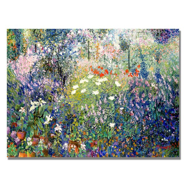 Manor Shadian 'Garden in Maui' Canvas Art