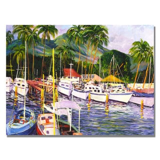Manor Shadian 'Lahaina Maui' Canvas Art