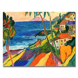 Manor Shadian 'Mapli Maui' Canvas Art