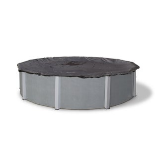 Blue Wave Round Rugged Mesh Above Ground Winter Pool Cover (4 options available)