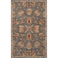 Hand-tufted Karuah Grey Wool Area Rug - 2' x 3'