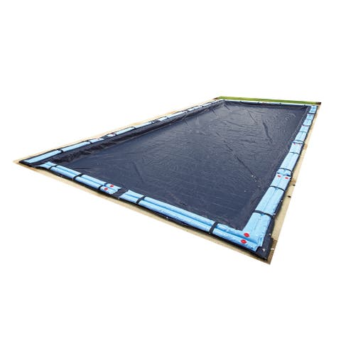 Blue Wave 8-Year Rectangular In Ground Winter Pool Cover