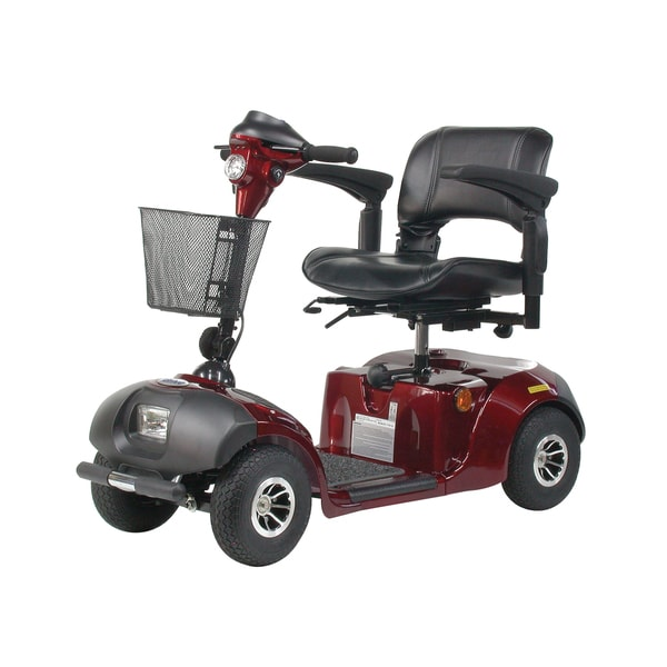 Daytona 4 GT Medium-sized 4-wheel Scooter with Padded Seat