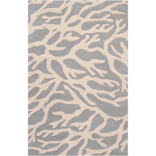 Somerset Bay Hand-tufted Moruya Grey Beach Inspired Wool Rug (2' x 3')
