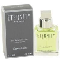 Calvin Klein Eternity Men's 1-ounce Eau de Toilette Spray