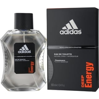 Adidas Deep Energy Men's 3.4-ounce Eau de Toilette Spray