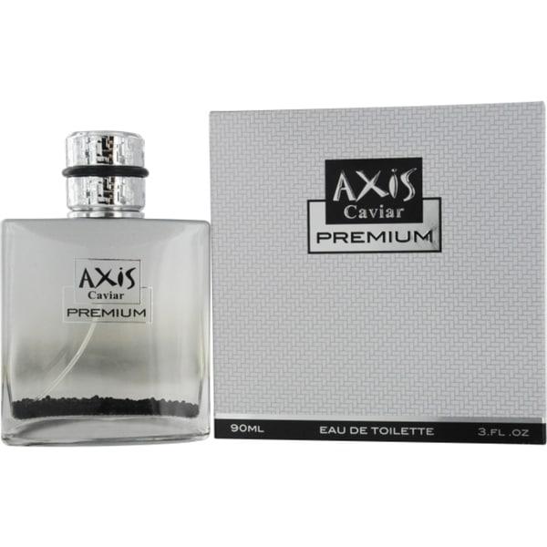 SOS Creations Axis Caviar Premium Men's 3-ounce Eau de Toilette Spray
