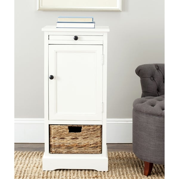 Safavieh Cape Cod Cream 2-drawer Tall Storage Unit