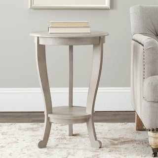 Safavieh Cape Cod Grey Pedestal Side Table
