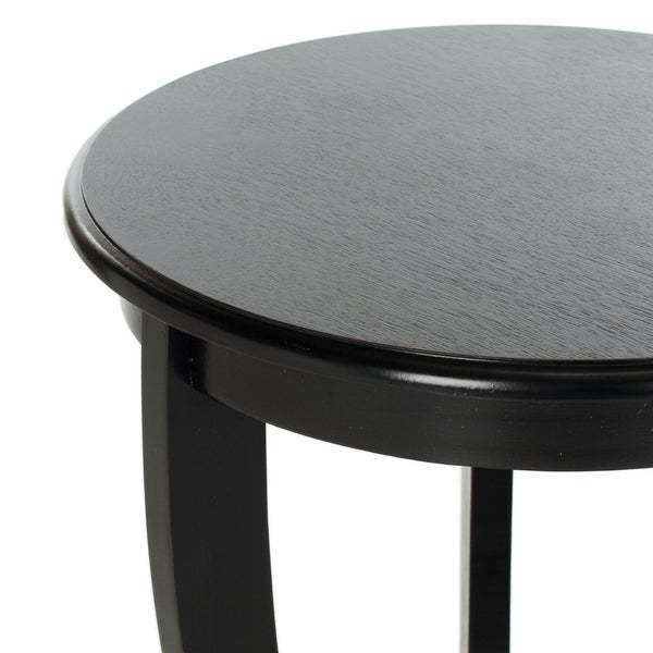 Safavieh Cape Cod Black Pedestal Side Table   Free Shipping Today    Overstock.com   14754113