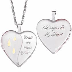Sterling Silver Memorial Locket Necklace|https://ak1.ostkcdn.com/images/products/7278153/Sterling-Silver-Memorial-Locket-Necklace-P14754103.jpg?impolicy=medium
