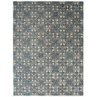 Safavieh Handmade Moroccan Chatham Majestic Light Blue/ Ivory Wool Rug - 4' x 6'