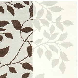 Safavieh Handmade Marrakesh Grey New Zealand Wool Rug (8' x 10')