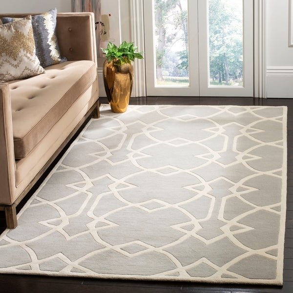 Safavieh Handmade Marrakesh Grey Wool Rug - 8' x 10'