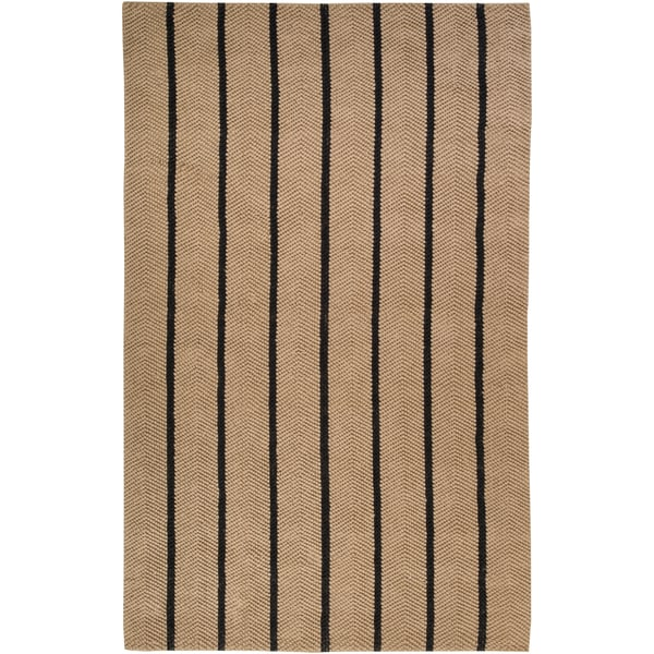 Country Living Hand-woven Outlook Beige Natural Fiber Jute Rug (2'6 x 4')