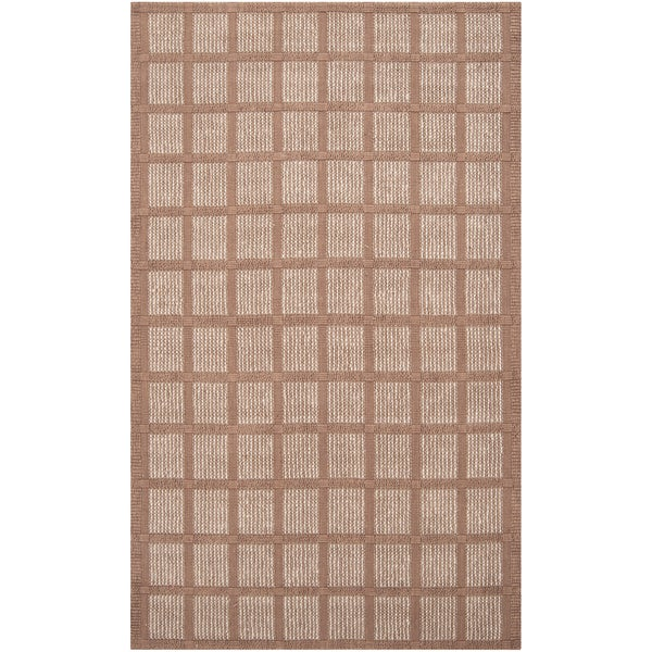 Country Living Hand-woven Orroral Beige Natural Fiber Jute Rug (2'6 x 4')