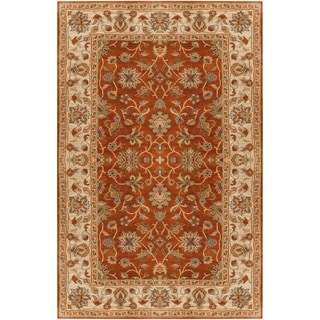 Hand-tufted Palouse Red Wool Rug (2' x 3')