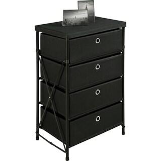 Altra Black Four Bin Vertical Storage