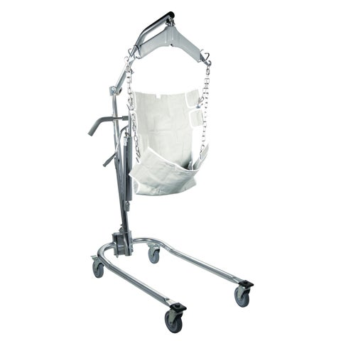 Hydraulic Patient Lift with 6-Point Cradle