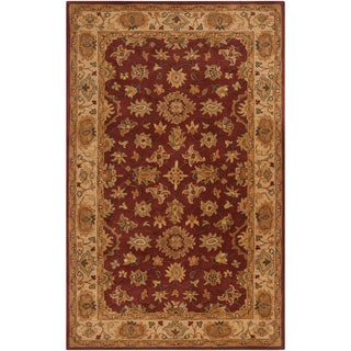 Hand-tufted Redmond Red Wool Rug (2' x 3')