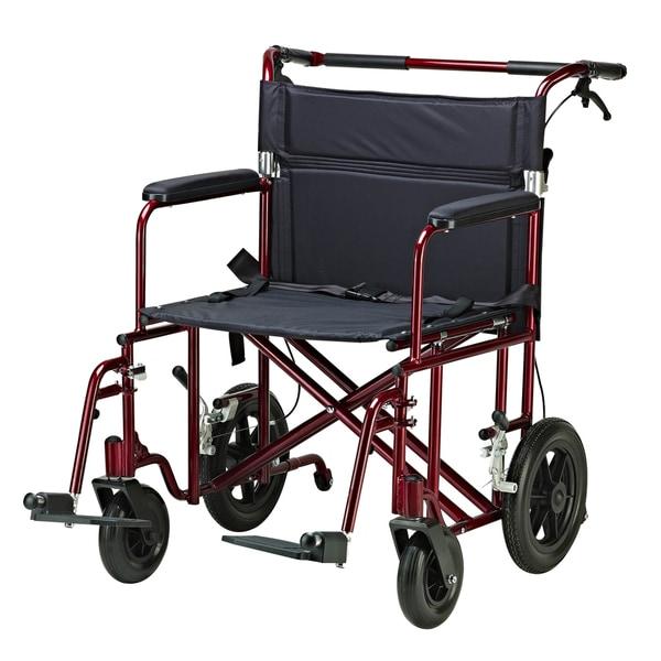Drive Medical Bariatric Heavy Duty Transport Wheelchair
