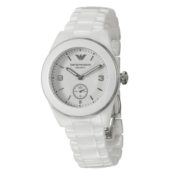Emporio Armani Women's 'Ceramica' Ceramic Quartz Watch