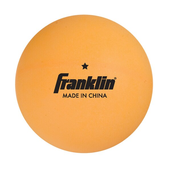 Franklin 40mm 1 Star Orange 144ct TT Balls