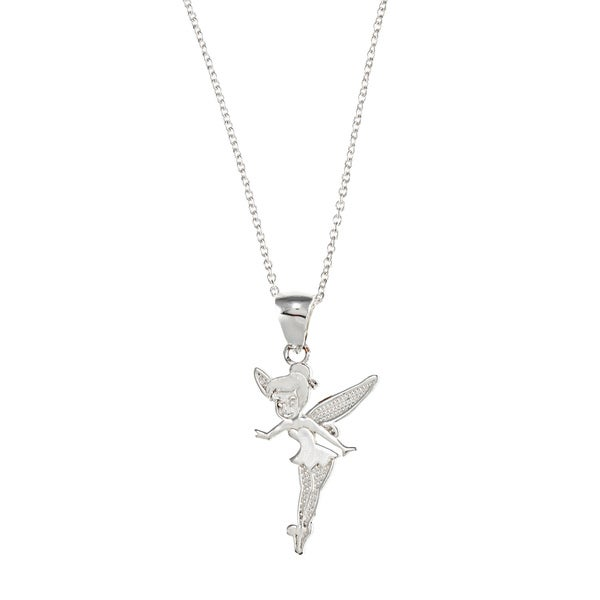Sterling Silver Disney's Tinkerbell Necklace