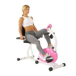 Sunny Health and Fitness P8400 Pink Magnetic Recumbent Bike|https://ak1.ostkcdn.com/images/products/7278771/P14754622.jpg?impolicy=medium