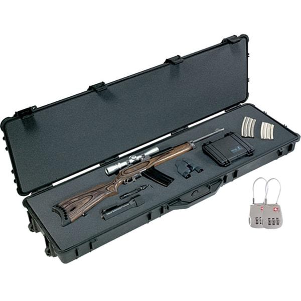 Pelican 1750 Long Gun Case with TSA-approved Locks