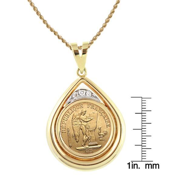 Jeu REAL 14K jaune petit roi couronne Lettre F Pendentif Charme 20/' Boîte De Chaîne