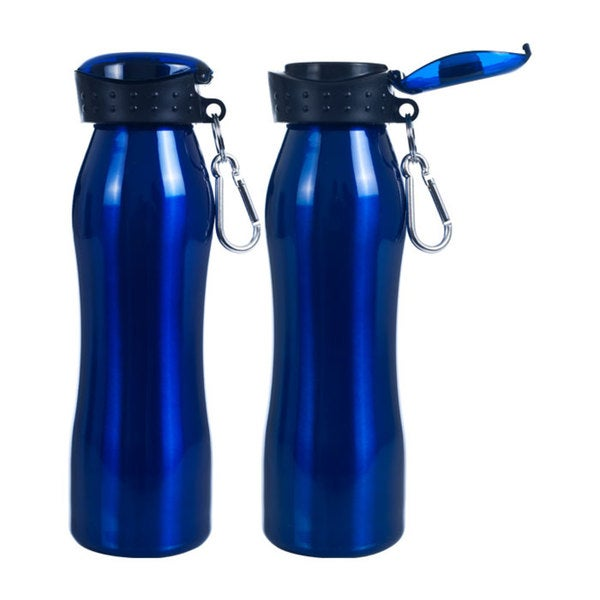 Whetstone Fliptop 25-ounce Blue Water Bottle (Pack of 2)