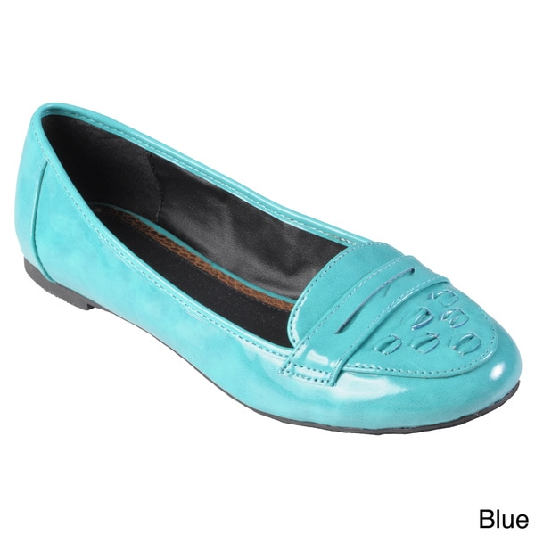 Hailey Jeans Co. Women's 'Bay' Topstitched Round Toe Loafer