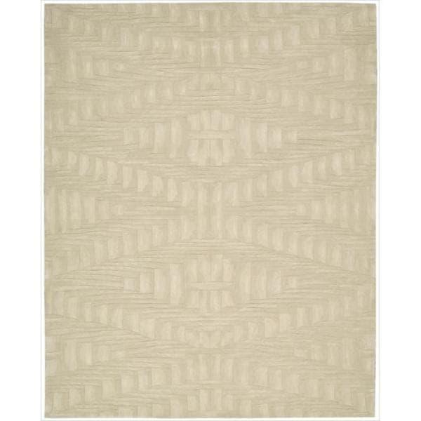 Nourison Hand-tufted Moda Cream Rug (8' x 11')