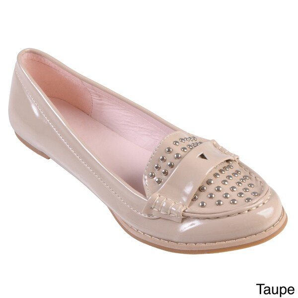 Hailey Jeans Co. Women's 'Hollywood' Patent Leather Studded Loafers