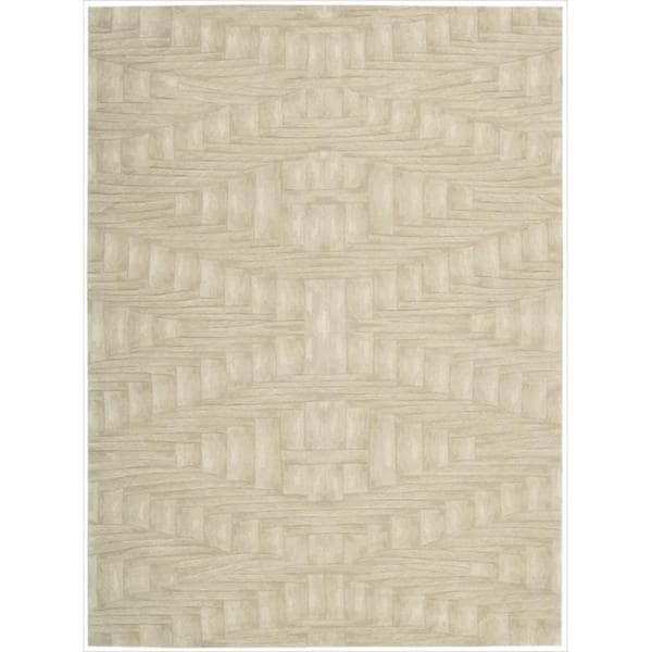 Nourison Hand-tufted Moda Cream Rug (3'6 x 5'6)