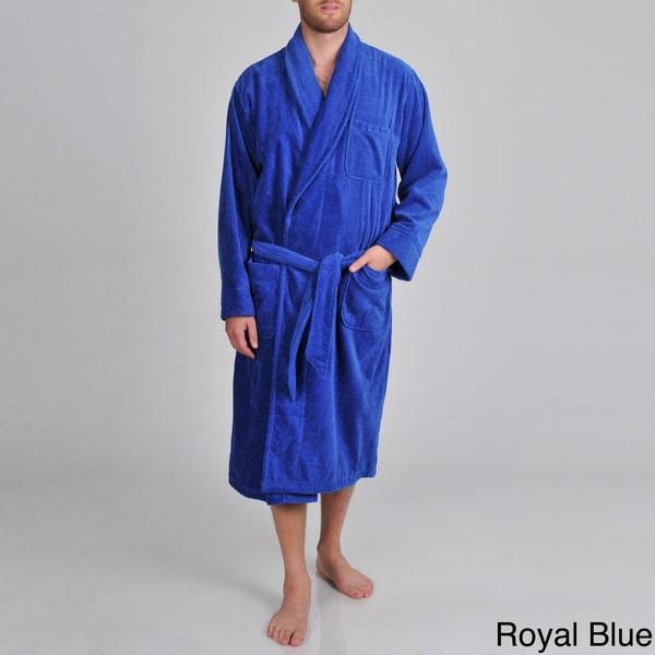 Izod Men's Terry Velour Sash-tied Robe