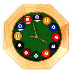 Octagonal Wood Billiards Quartz Clock|https://ak1.ostkcdn.com/images/products/7279895/Octagonal-Wood-Billiards-Quartz-Clock-P14755501.jpg?impolicy=medium