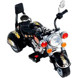 Ride on Toy, 3 Wheel Chopper Motorcycle for Kids by Rockin' Rollers - Battery Powered Ride on Toys for Boys & Girls
