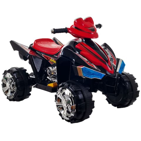 Ride On Toy Quad, Battery Powered Ride On Toy ATV Four Wheeler With Sound Effects by Lil Rider  Toys for Boys & Girls