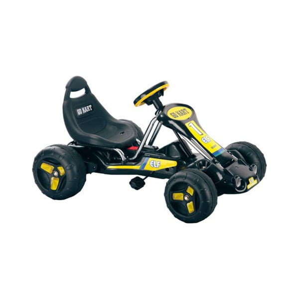 Ride On Toy Go Kart, Pedal Powered Ride On Toy by Rockin' Rollers – Ride On Toys for Boys & Girls For 3 – 7 Year Olds