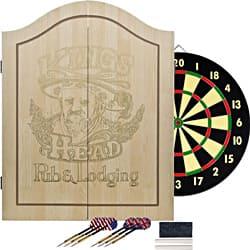 King's Head Light Wood Value Dartboard Set|https://ak1.ostkcdn.com/images/products/7280013/Kings-Head-Light-Wood-Value-Dartboard-Set-P14755631.jpg?impolicy=medium