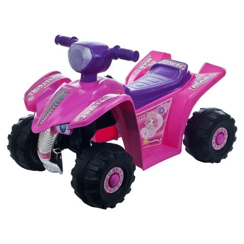 Ride On Toy Quad, Battery Powered Ride On Toy ATV Four Wheeler by Lil Rider